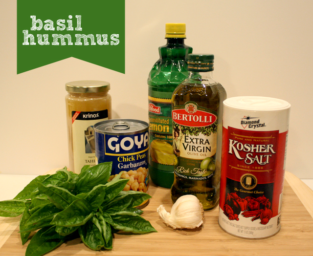 basil hummus - rachel swartley