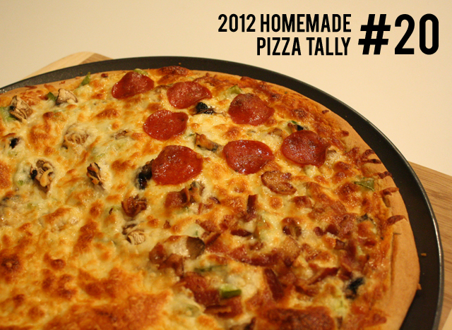 homemade pizza #20