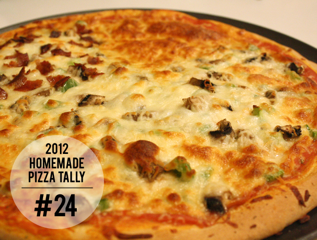 2012 homemade pizza tally: #24