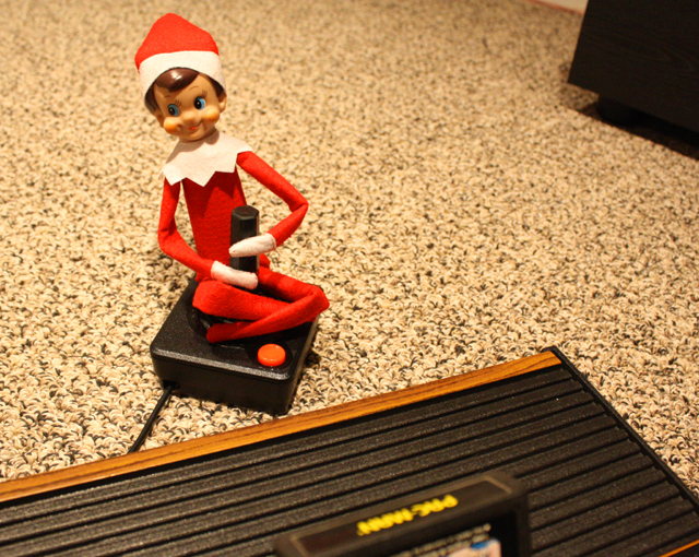 Elf on the Shelf: Atari