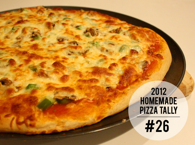 2012 homemade pizza tally: #26