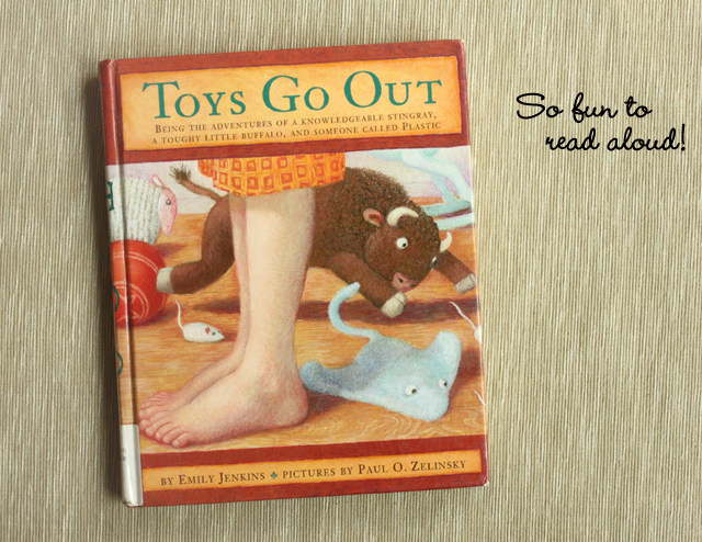 Toys Go Out - a fun read-aloud book