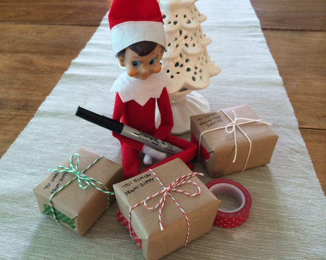 Elf on the Shelf: shipping tiny Christmas gifts