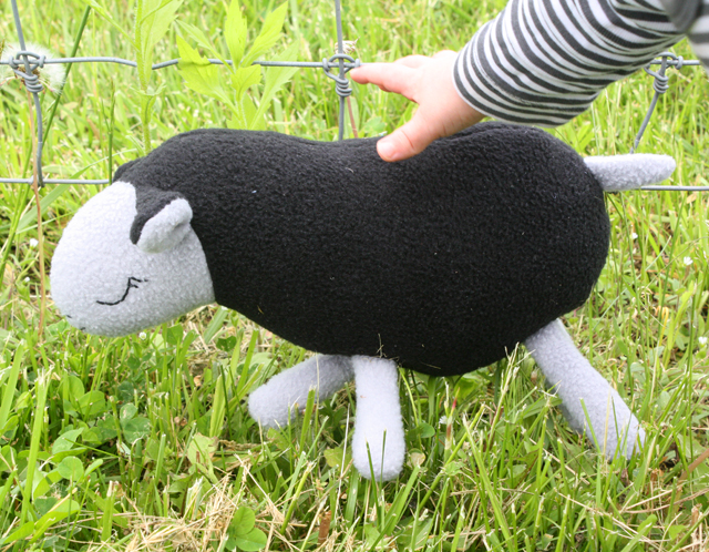 stuffed sheep